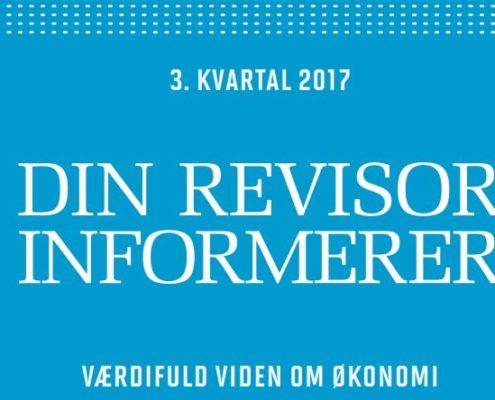 RevisorInformerer 3. kvartal 2017